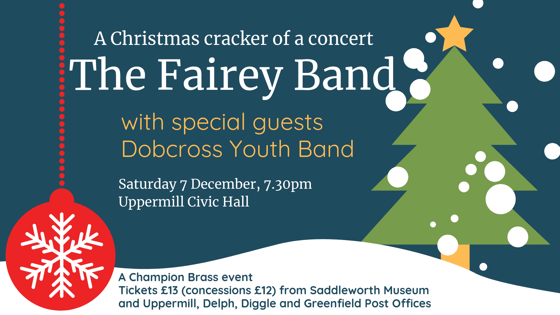 Christmas Cracker Png.Christmas Cracker With The Fairey Band Dobcross Youth Band